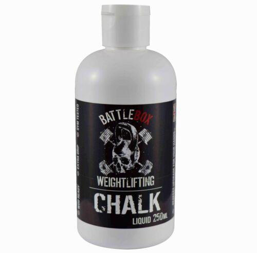 Battlebox Weightlifting® 500ML Pro Liquid Chalk Rock Climbing Gymnastic Fitness