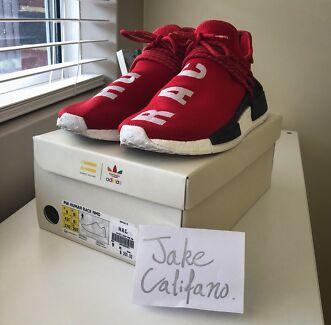Human Race NMD Adidas x Pharrell Williams Red sz9
