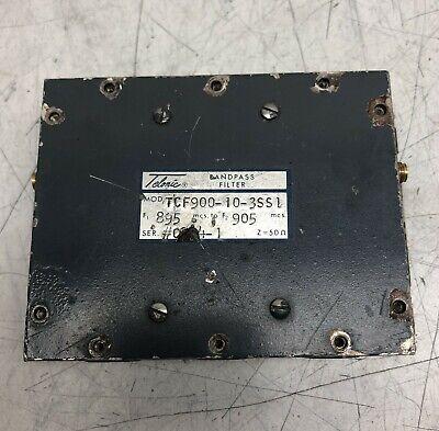 Telonic Bandpass Filter Tcf900-10-3ss1