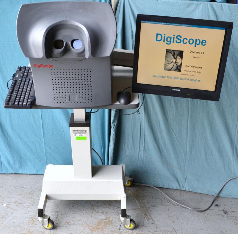 EyeTel Imaging DS6010 DigiScope DS06 Fundus Camera Vision Scanner