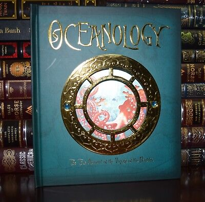 Oceanology True Voyage of the Nautilus Illustrated New Large Hardcover Gift