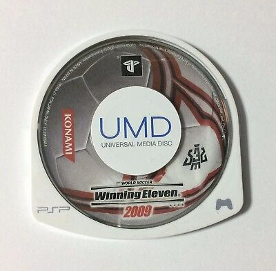 USED PSP Disc Only World Soccer Winning Eleven 2009 JAPAN PlayStation Portable