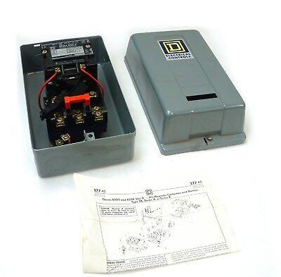 Used GE Manual Motor Starter CR1062R2B w//Type 1 Enclosure