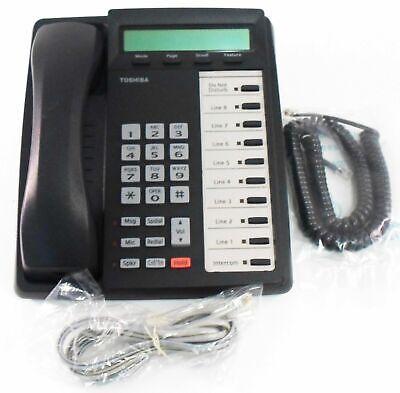 Toshiba Charcoal Dkt3010-sd Phone Dkt 3010 Black Renewed Warranty Refurbished