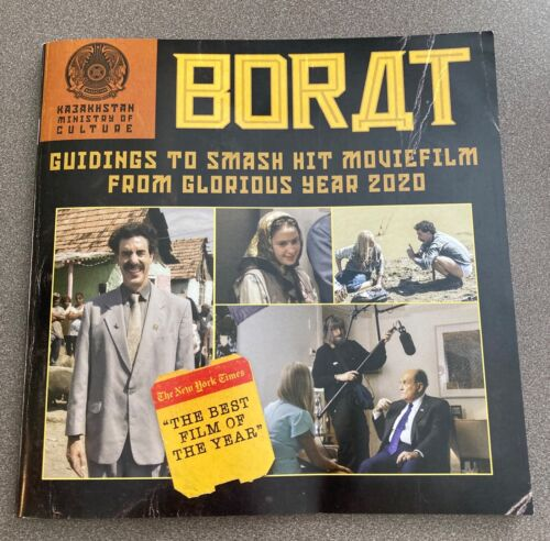 Borat Subsequent movie Pressbook 22 Pages Sacha Baron Cohen Press Kit Film FYC