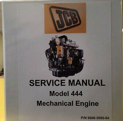 Jcb 444 Engine Service Manual-9806-3000-4