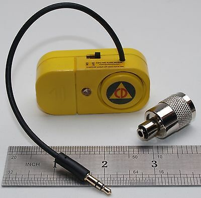 CDV-700 Geiger Counter Mini Speaker with LED Flasher & Headphone Adaptor CD-V700
