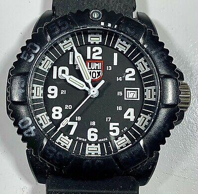 LUMINOX Navy Seal Series 3050/3950 Black Case New Movement & Battery
