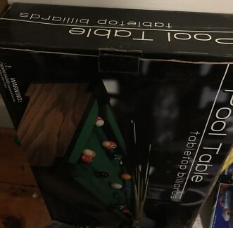 POOL TABLE TABLE TOP Billiards as New