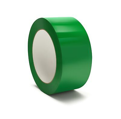 144 Rolls Green Color Carton Sealing Packaging Packing Tape 2 Mil 48mm X 100m