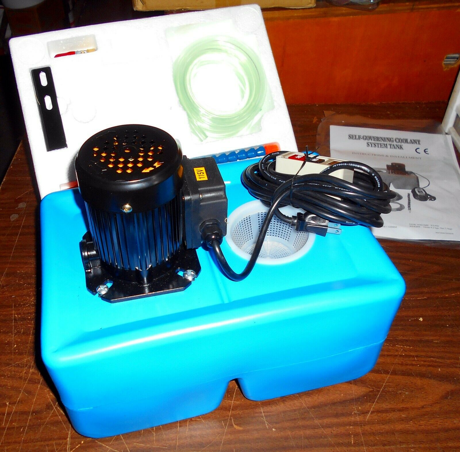 ACCURA/VERTEX  ACPS-009 COOLANT PUMP SYSTEM FOR LATHES, MILL