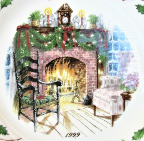 """Lenox 1999 The Annual Holiday Collector Plate 11"""" Winters Warmth 9th In Series"""