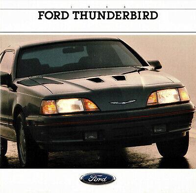1988 Ford Thunderbird Brochure Sport/LX/Turbo - Mint! 1988 Ford Thunderbird Turbo