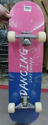 """Geelife Skateboard 7 Layers Decks 31""""x8"""" Complete """"DANCING"""" Youth ---- (WH2)"""