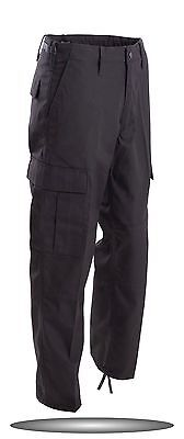 BLACK BDU PANTS MILITARY STYLE PANTS ARMY NAVY SWAT CARGO SIZES  SMALL   TO  6X - Navy Bdu Pants