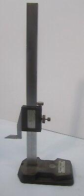 Vtg Brown Sharpe Model 588 Machinists Measuring Tool Vernier Height Gauge 21