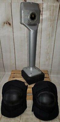 Qep Professional Expandable Knee Kicker Carpet Tool Stretcher Wknee Pads