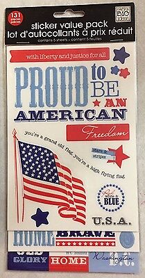 4th Of July Craft Ideas (1172 ME & MY BIG IDEAS Embossed Stickers - 4TH OF JULY  - 10