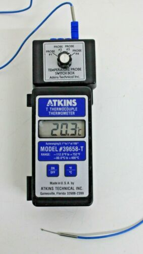 Atkins Thermocouple Thermometer Model 39658-T