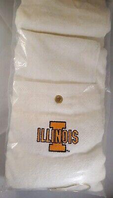 ILLINOIS College Logo Embroidered 16