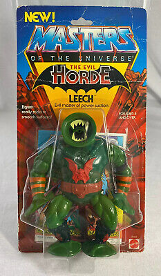 MOTU LEECH Action Figure MOC Horde sealed Card Mattel 1984 Masters