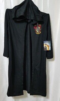 Harry Potter Big Boys Hogwarts House Crest Magic Wizard Cloak Costume Robe Small