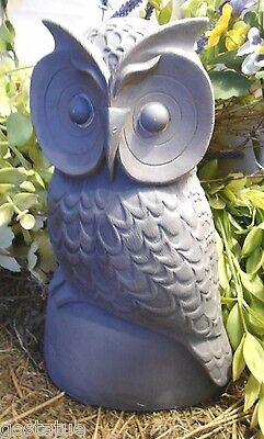 Gostatue latex only owl mold plaster mold concrete mold casting latex mould