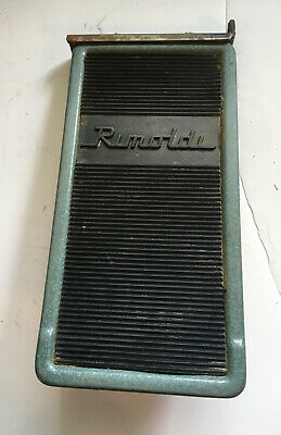 Used Vintage-rimoldi-spring Loaded Foot Pedal Green-free Shipping