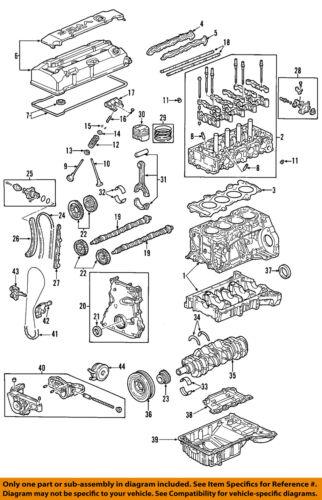honda oem 00-03 s2000-motor pistão 13010pcxa03 | ebay  ebay