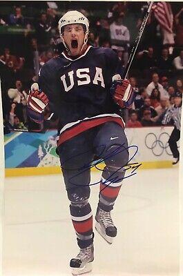 Bobby Ryan Anaheim Ducks - ANAHEIM DUCKS TEAM USA BOBBY RYAN signed Autographed 12x18 photo W/COA