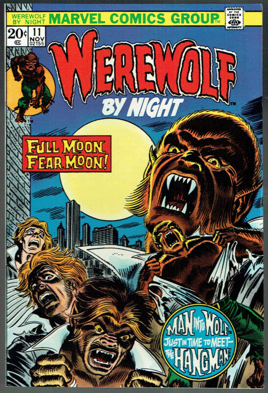 WEREWOLF BY NIGHT  11  VF/NM/9.0 - Incredibly glossy with vibrant cover colors!