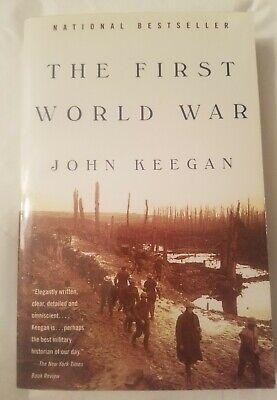 The First World War by John Keegan National Bestseller Paperback