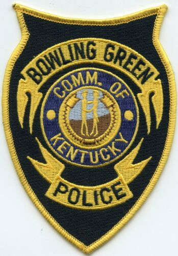 old style BOWLING GREEN KENTUCKY KY POLICE PATCH