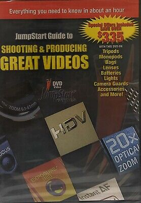 JumpStart Video Training Guide on DVD for the Canon 30D Jumpstart Video Training Guide