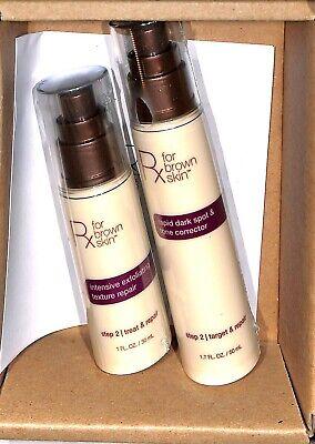 Rx for Brown Skin Rapid Dark Spot Tone Corrector + exfoliating texture repair