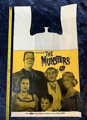Nick Halloween Promo (Rare 1990s The Munsters Halloween Promo Target Bag Nick At Night)
