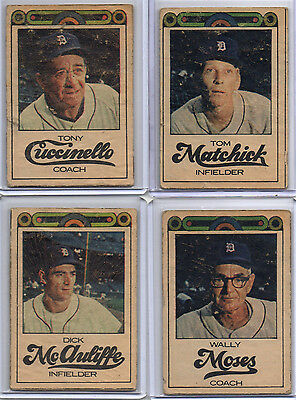 1968 Detroit Free Press Tigers   Choice  1   World Series Champs  Free Shipping