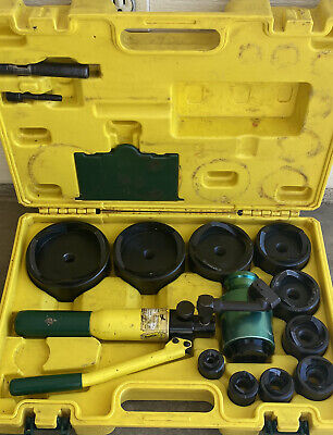 L.h. Dottie Hydraulic Knock Out Set Up To 4 Dies