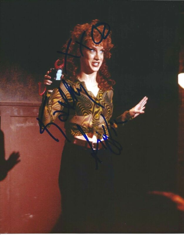 COMEDIAN KATHY GRIFFIN HAND SIGNED AUTHENTIC 'SEINFELD' 8X10 PHOTO w/COA