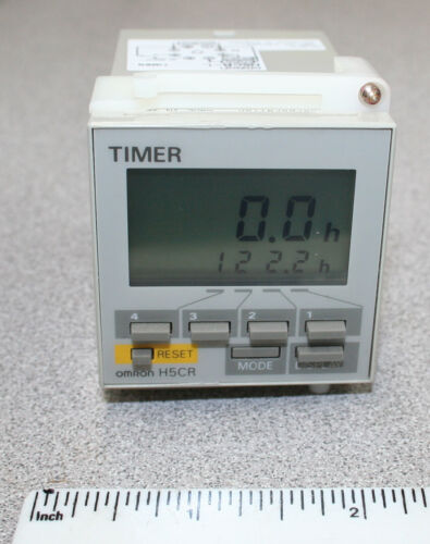 Omron Timer H5CR-L H5CR Panel Meter Instrument or Control Unit