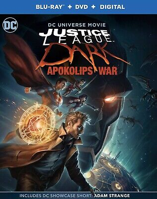 JUSTICE LEAGUE DARK:APOKOLIPS WAR(BLU-RAY+DVD+DIGITAL CODE)NEW FREE SHIPPING