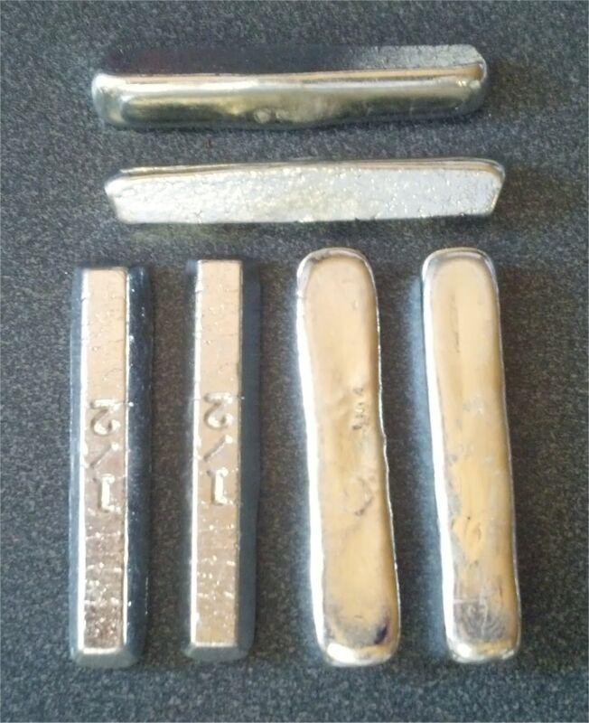 2 Ounces TIN metal Ingot 99.97% pure Bullion - 56.7+ grams lb BAR