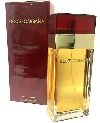 Dolce & Gabbana Red  3.3 oz  EDT  Women's Perfume NIB