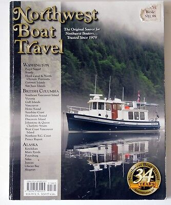 2012 Northwest Boat Travel Guide Washington Alaska British Columbia