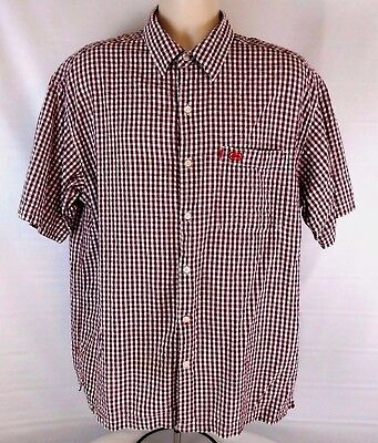 The Ecko Unlimited Mens Shirt Size Xl Short Sleeve Plaid   Checks Multi Color