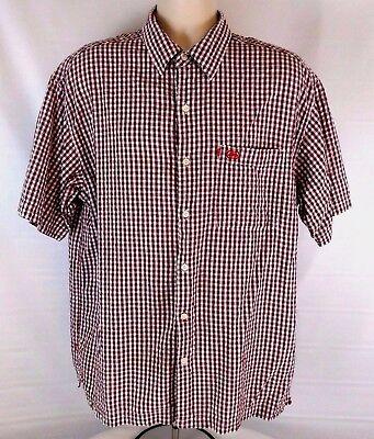 The Ecko Unlimited Mens Shirt Size Xl Short Sleeve Plaid   Checks Multi Color