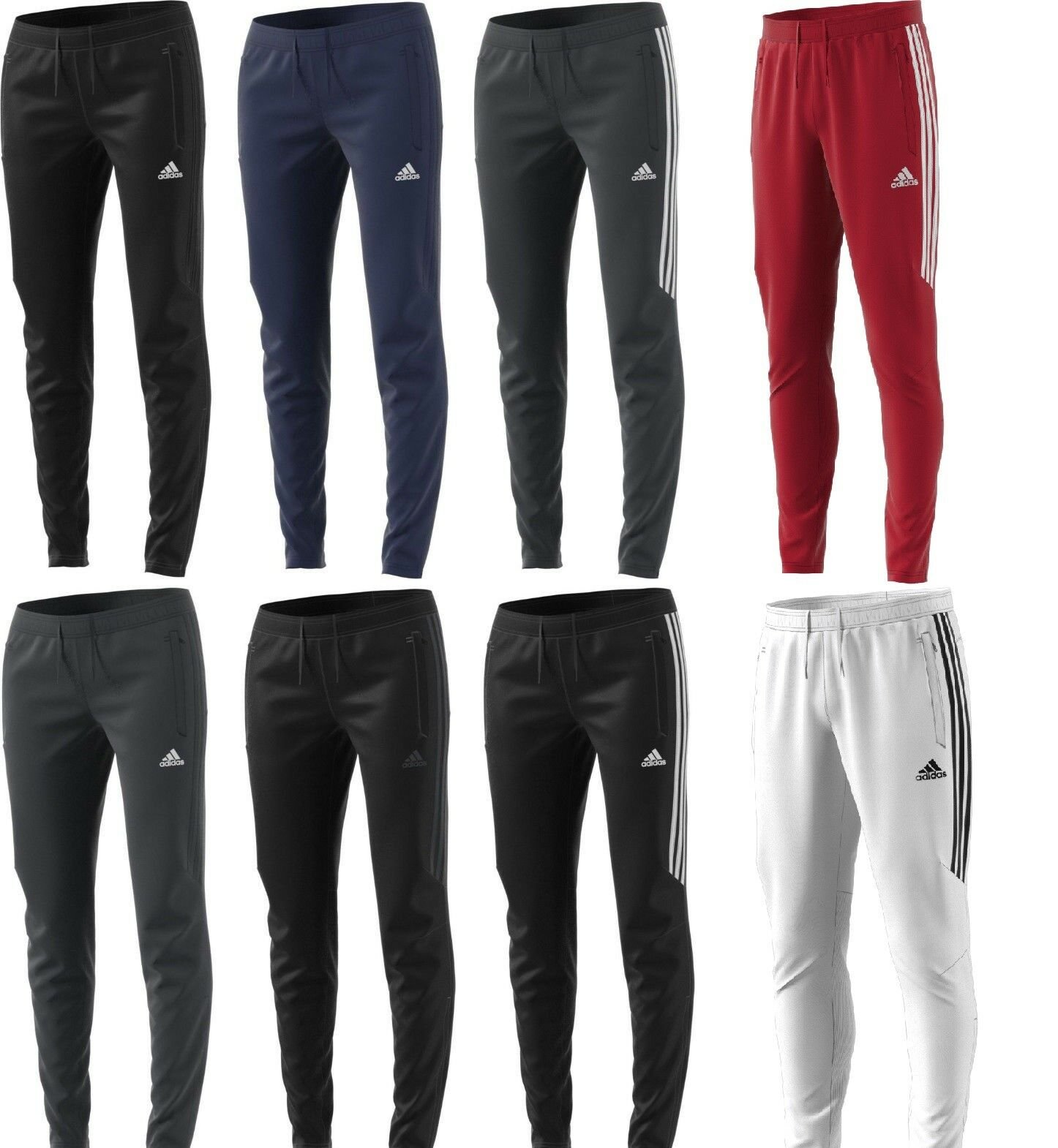 Adidas Men's Tiro 17 Training Pants Only Running Track Suit