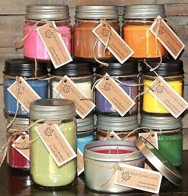 Maple Creek Candles APPLE, CITRUS, GINGER, SPICE, MINT, WINTERGREEN Pick Scent