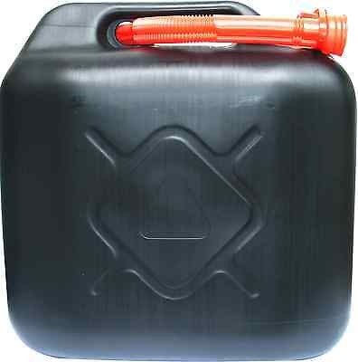 20l Liter Diesel-/ Benzinkanister Kraftstoffkanister schwarz UN-geprüft #159623