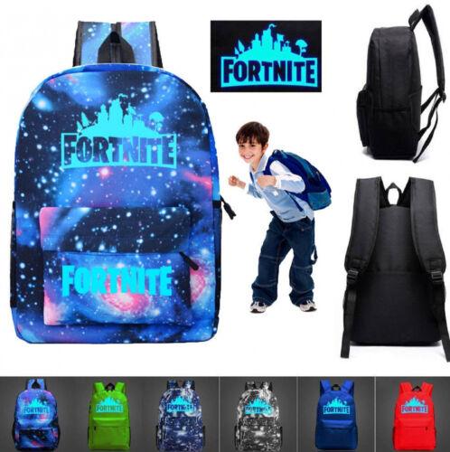 Super Cool Galaxy Thunder Backpack Teenagers Night Luminous Student School Bags